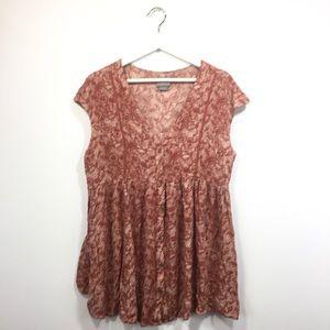 Anthropologie Vanessa Virginia Medium Shirt Floral